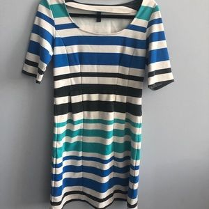 vero moda turquoise dress